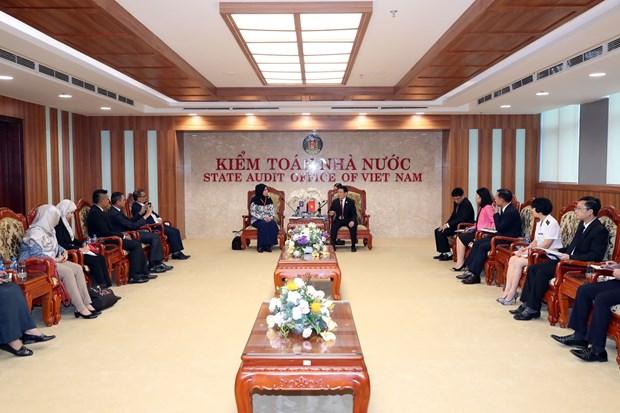 ASOSAI 14: 进一步加强越南国家审计署与马来西亚国家审计署的合作 hinh anh 1