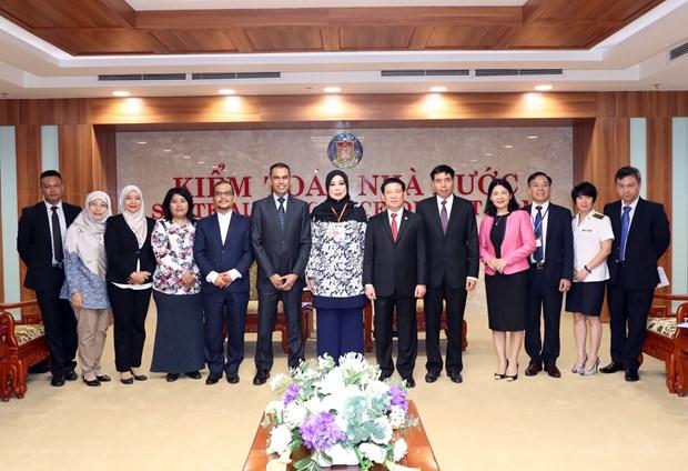 ASOSAI 14: 进一步加强越南国家审计署与马来西亚国家审计署的合作 hinh anh 2