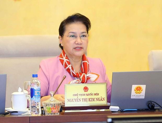 越南第十四届国会常务委员会第27次会议:减贫是整个政治体系的共同任务 hinh anh 2