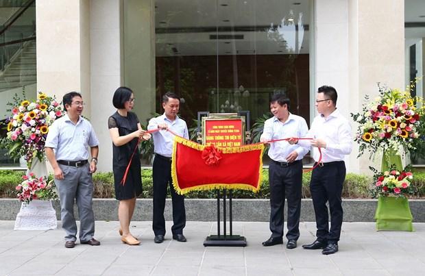 越南通讯社电子信息显示屏正式投入使用 实现信息传递方式多样化 hinh anh 1