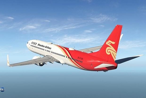 中国深圳航空开通河内飞往中国深圳和广州的航线 hinh anh 1