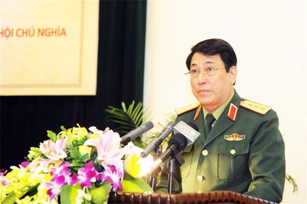 越南人民军总政治局代表团对老挝和柬埔寨进行正式访问 hinh anh 1