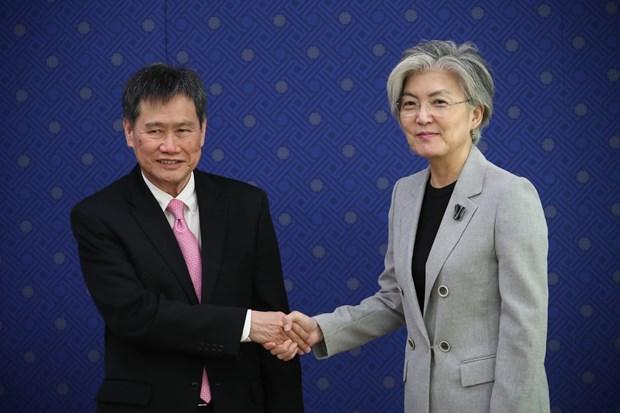 韩国与东盟加强合作 hinh anh 1