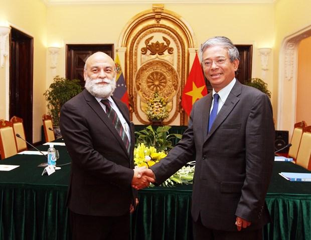越南与委内瑞拉第七届外交部副外长级政治磋商在河内举行 hinh anh 1