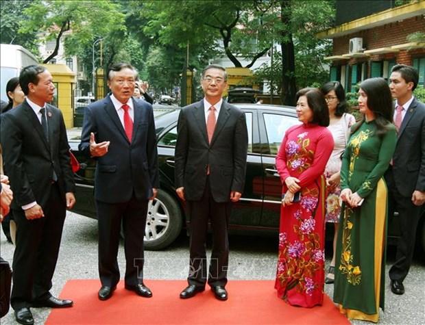 越中两国最高人民法院增强司法领域合作 hinh anh 1