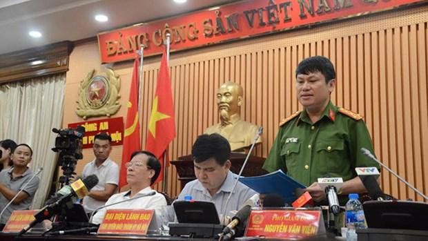 音乐节7人死亡案件:河内公安发出刑事案件起诉书 hinh anh 1