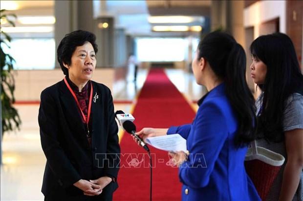 中国审计署审计长:中国愿同越南及各国分享环境审计经验 hinh anh 1