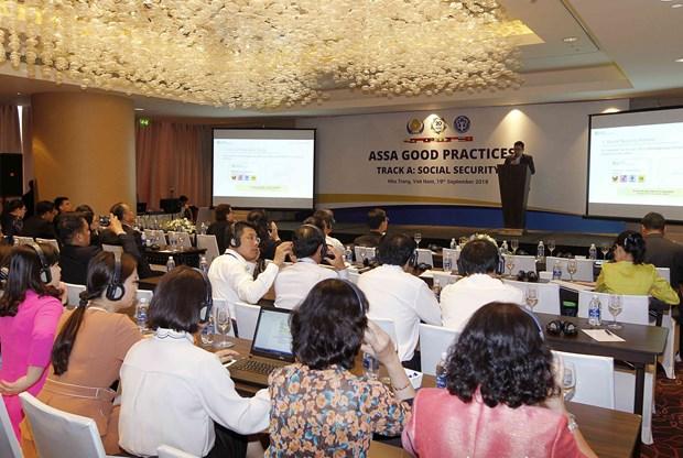 东盟社会保障协会理事会第35届会议各成员组织分享成功经验 hinh anh 1