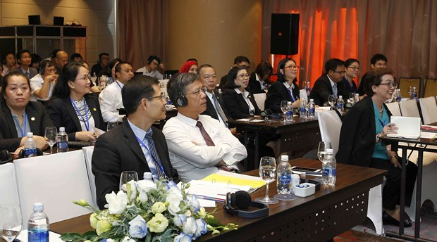 东盟社会保障协会理事会第35届会议各成员组织分享成功经验 hinh anh 2