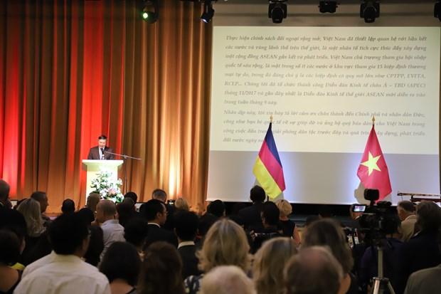 德国高度评价与越南的合作关系 hinh anh 1