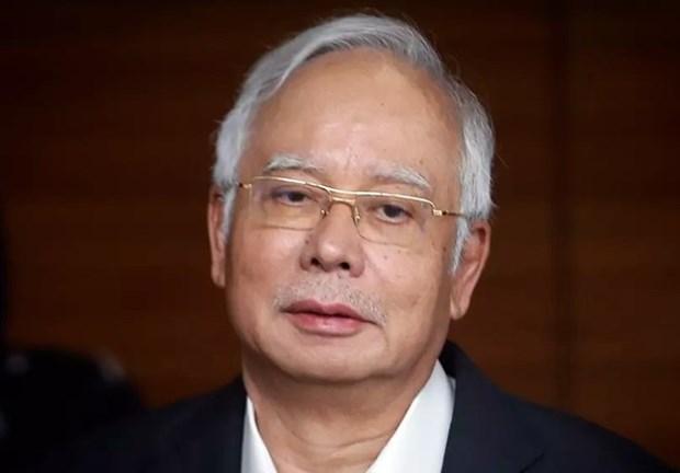 马来西亚前总理纳吉布面临25项指控 hinh anh 1