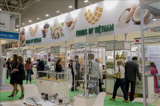 越南企业参加莫斯科国际粮食展览会 hinh anh 1