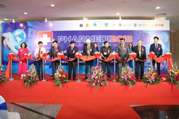 第13届越南(胡志明市)国际医疗器械展览会开展 hinh anh 1