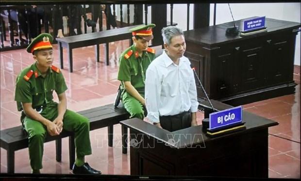 和平省:陶光实因煽动颠覆人民政权罪获刑14年 hinh anh 1
