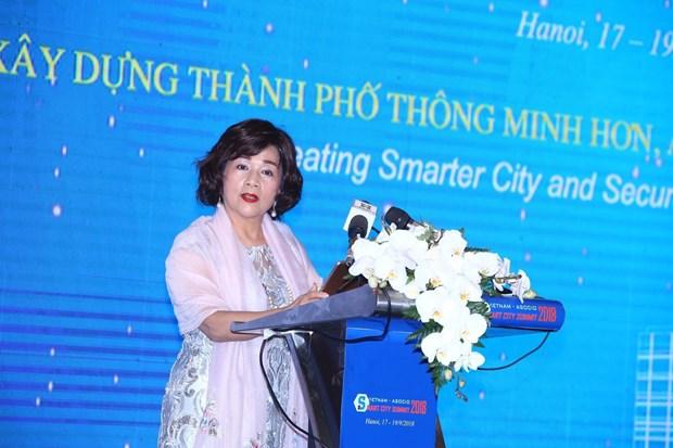 ASOCIO 2018:建设智慧、安全与和谐宜居的城市 hinh anh 2