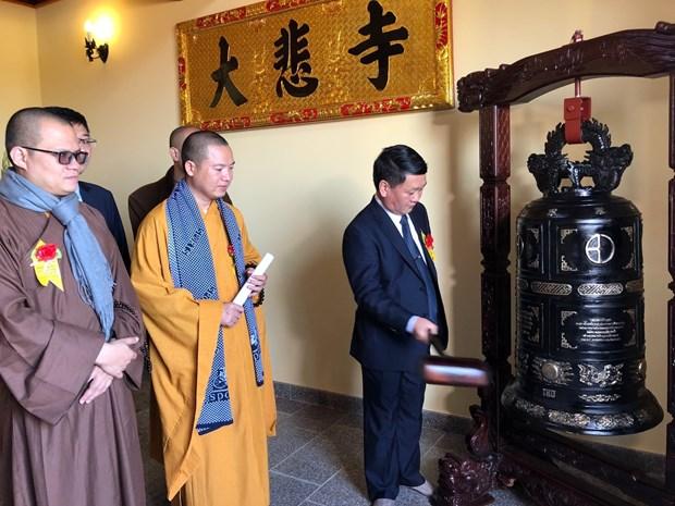 越南首座欧洲寺庙落成 获匈牙利政府公认 hinh anh 1