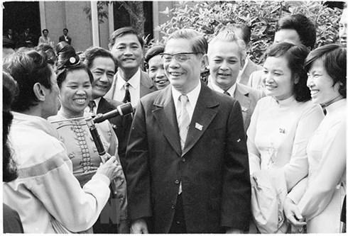 越共中央已故总书记阮文灵——革新事业的倡导者 hinh anh 1