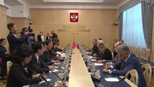 进一步巩固与加强越俄全面战略伙伴关系 hinh anh 1