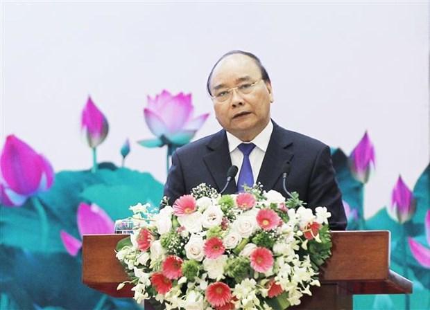 阮春福总理:经济与文化需全面协调发展 hinh anh 1