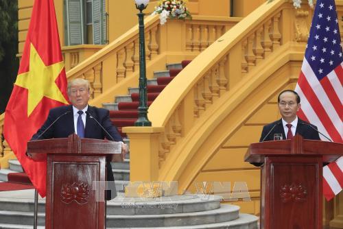 美国和埃及总统就越南国家主席陈大光逝世致唁电 hinh anh 1