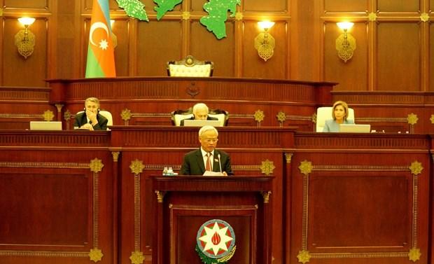 越南与阿塞拜疆促进议会合作 hinh anh 1
