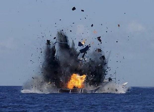 """泰国强力打击非法捕鱼以摆脱欧盟""""黄牌""""警告 hinh anh 1"""