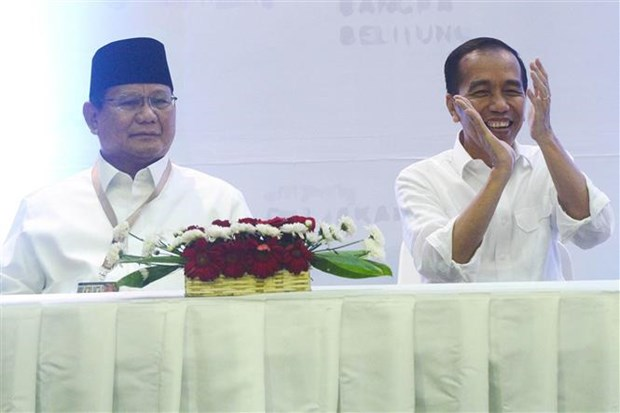印度尼西亚总统选举的竞选活动正式拉开帷幕 hinh anh 1