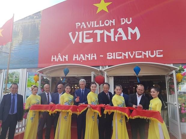 越南参加2018年法国卡昂国际展览会 hinh anh 1