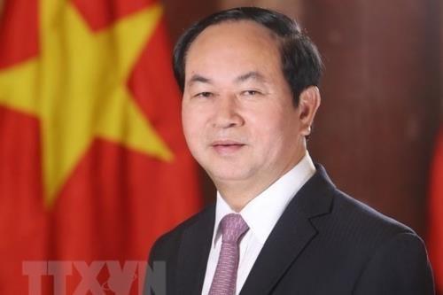 中国国务院总理李克强就越南国家主席陈大光逝世致唁电 hinh anh 1