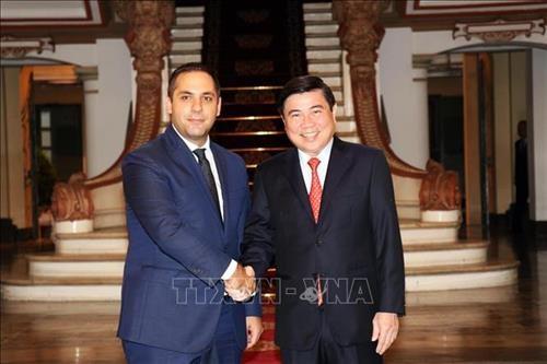 胡志明市与保加利亚加强经济合作 hinh anh 2