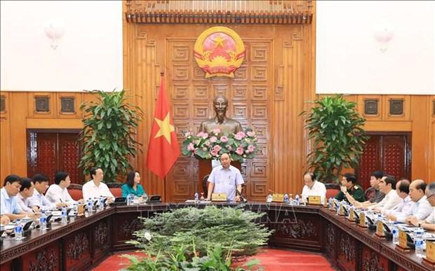 政府总理阮春福:谅山省应大力开发中国市场 hinh anh 1