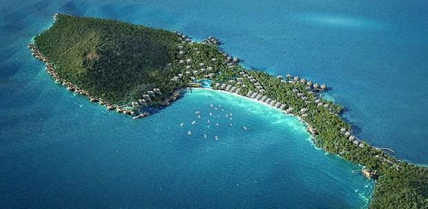 越南富国岛接待游客大幅增加 旅游收入年均增长42.5% hinh anh 1