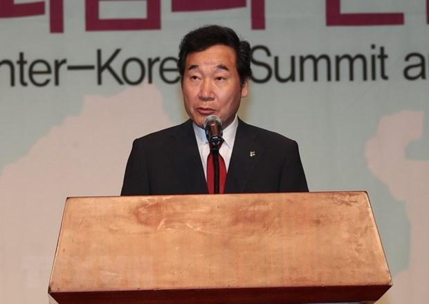 韩国总理将赴越吊唁陈大光主席逝世 hinh anh 1