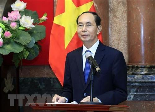 老挝决定为已故越南国家主席陈大光举行为期两天的国葬 hinh anh 1