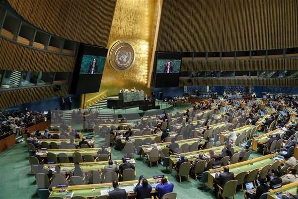 政府总理阮春福出席第73届联大一般性辩论: 充分发挥越南在多边论坛上的积极作用 hinh anh 1