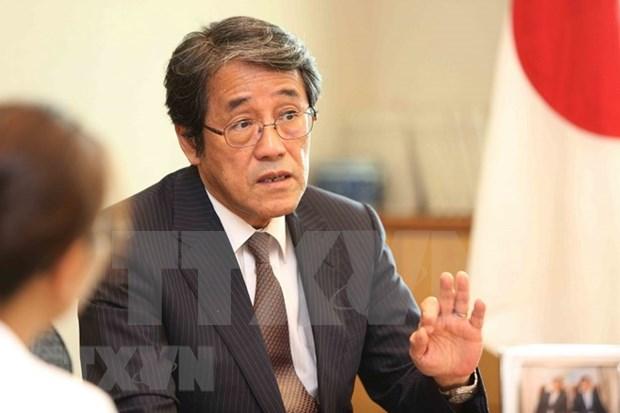 越日建交45周年:日本高度重视对越关系 hinh anh 1