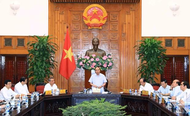 政府总理阮春福:把莲沼港建设成为现代和符合于世界趋势的港口 hinh anh 1