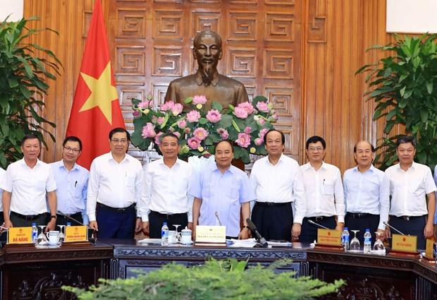 政府总理阮春福:把莲沼港建设成为现代和符合于世界趋势的港口 hinh anh 2