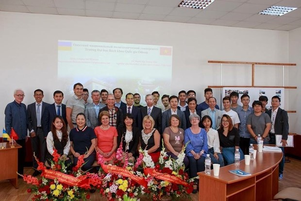 乌越科研和教育合作中心正式成立 hinh anh 1