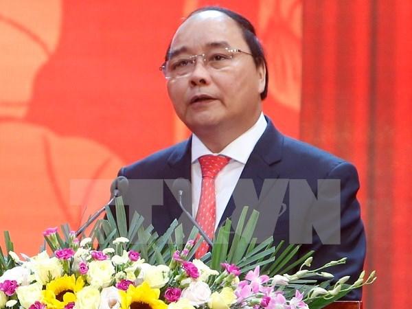 阮春福:越南愿为创造人类的美好未来作出贡献 hinh anh 1