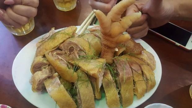吸引游客的美食——东早鸡 hinh anh 1