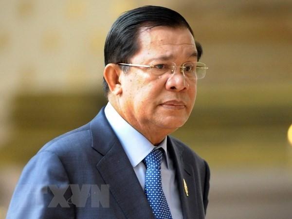 柬埔寨首相洪森将参加越南国家主席陈大光葬礼 hinh anh 1