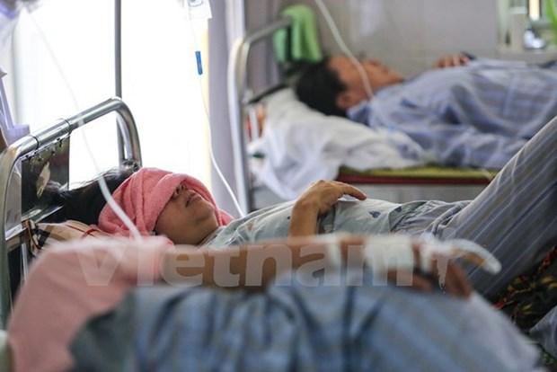 年初至今河内市已有950多人感染登革热 hinh anh 1