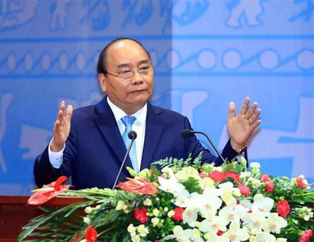 阮春福总理:严厉打击保守、官僚主义和工作不负责任的表现 hinh anh 1