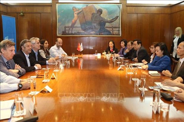 越南与阿根廷加强卫生领域的合作关系 hinh anh 1