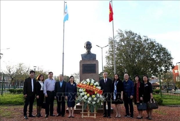 越南与阿根廷加强卫生领域的合作关系 hinh anh 2