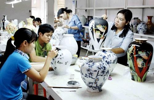 越南陶瓷器对阿根廷出口猛增 hinh anh 1