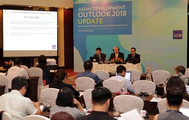 2018年上半年越南经济保持蓬勃发展活力 hinh anh 1