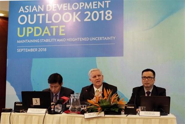 2018年上半年越南经济保持蓬勃发展活力 hinh anh 2