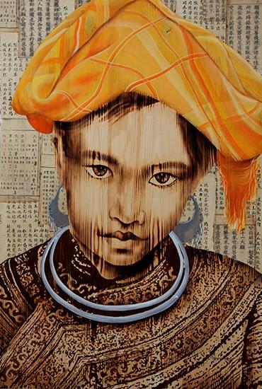 17名越南画家在美国纽约展示艺术才华 hinh anh 2